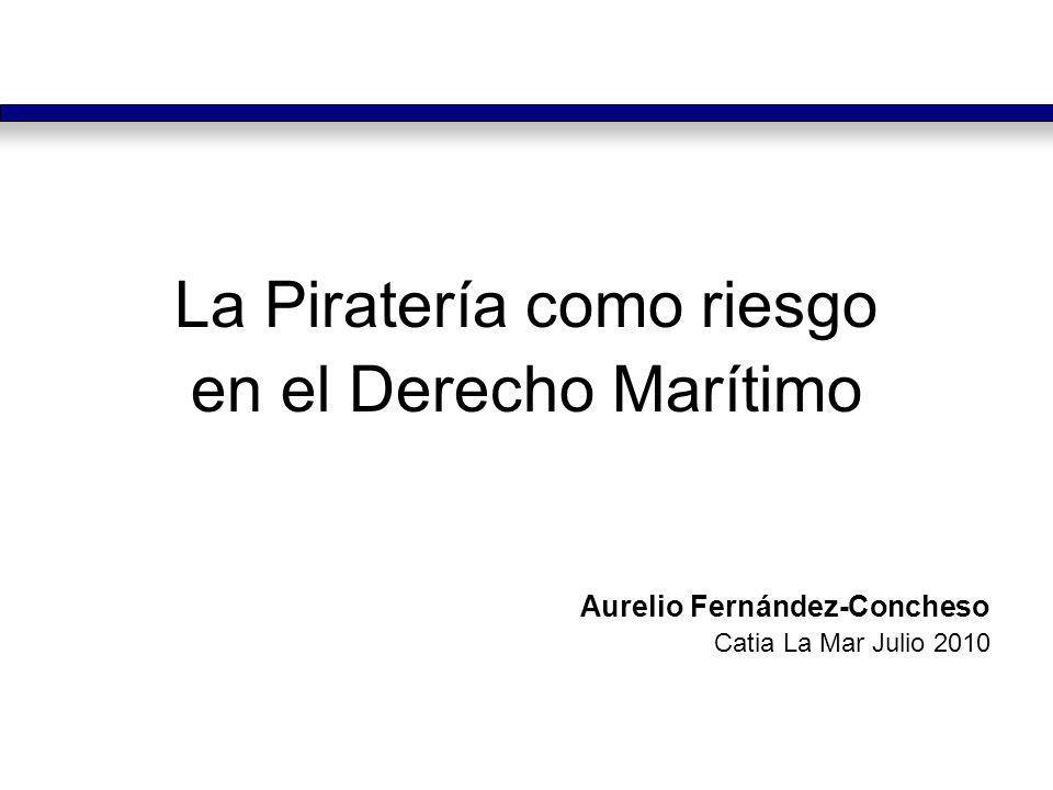 La Piratería como riesgo