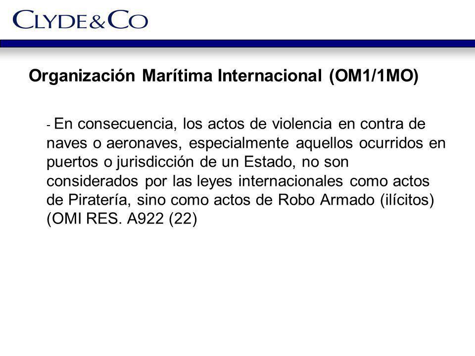 Organización Marítima Internacional (OM1/1MO)