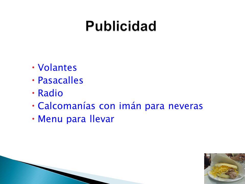 Publicidad Volantes Pasacalles Radio Calcomanías con imán para neveras