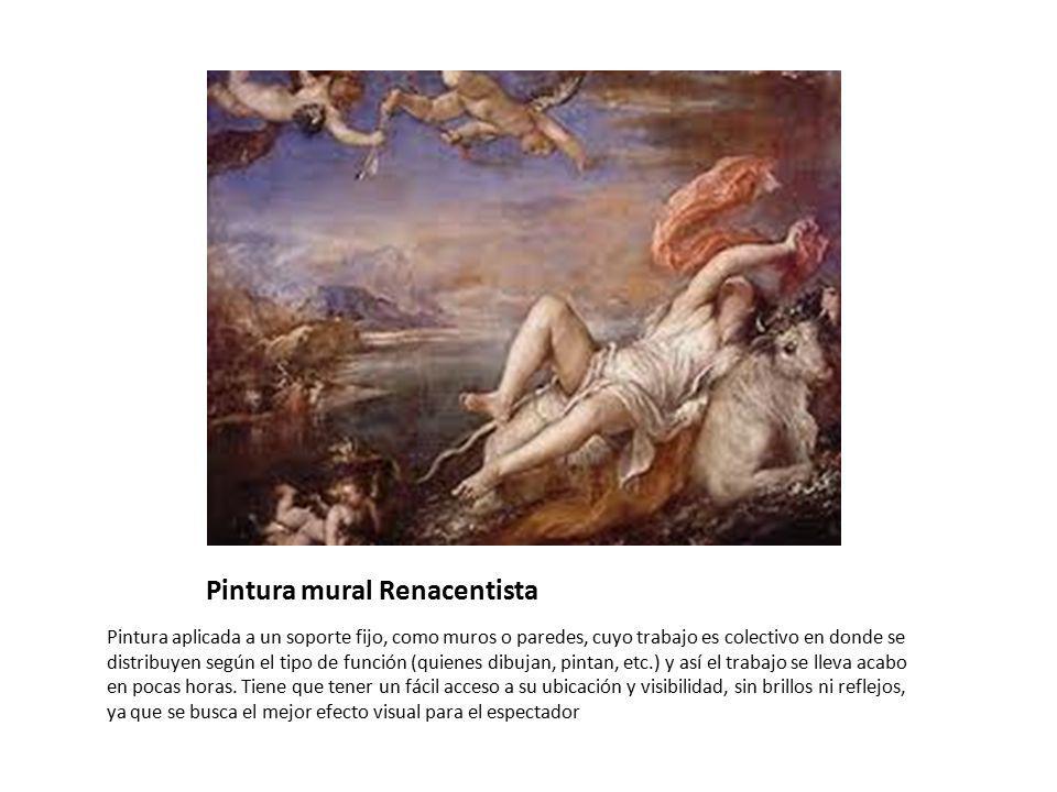 Pintura mural Renacentista