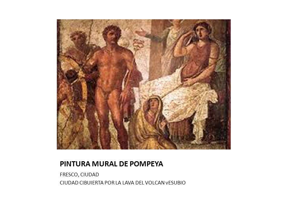PINTURA MURAL DE POMPEYA