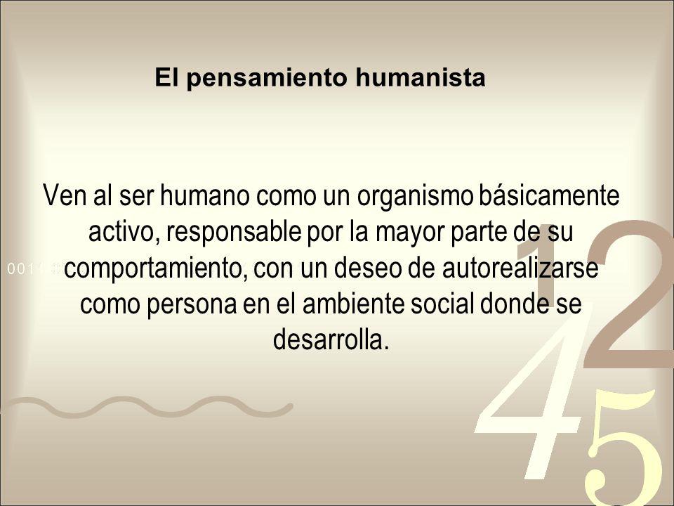 El pensamiento humanista