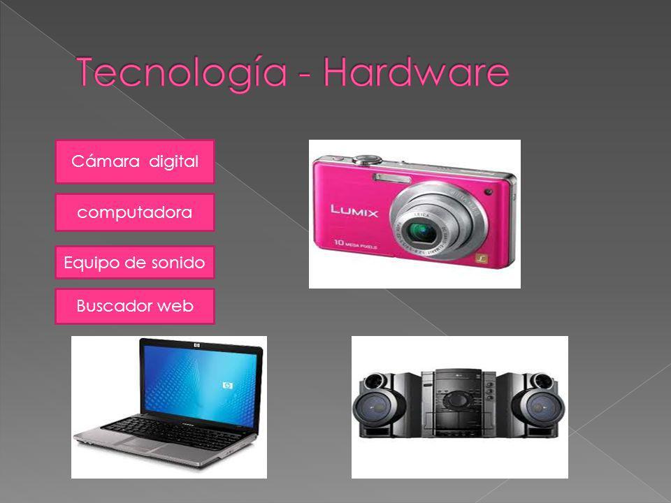 Tecnología - Hardware Cámara digital computadora Equipo de sonido