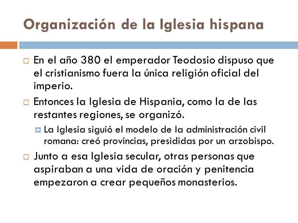 Organización de la Iglesia hispana