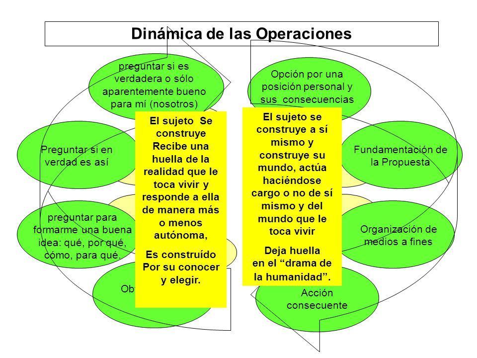 Dinámica de las Operaciones