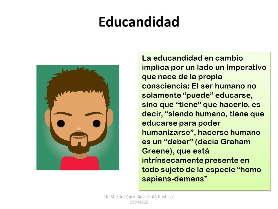 Dr. Martín López Calva / UIA Puebla / 23042010