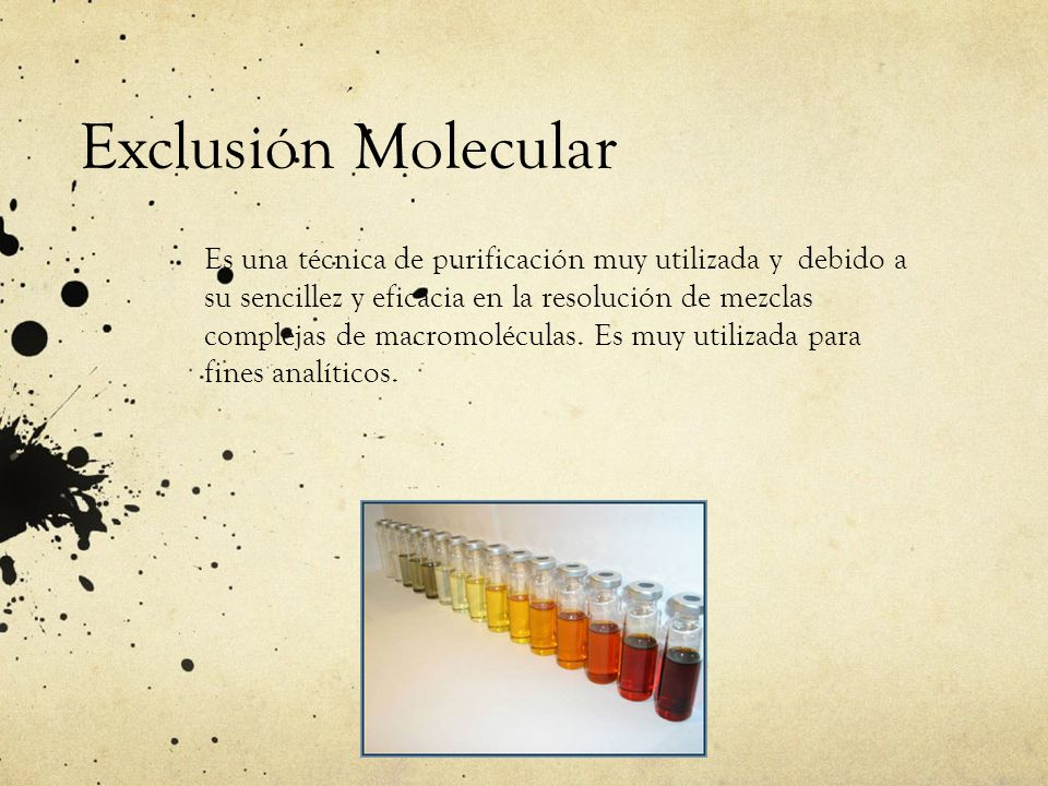 Exclusión Molecular