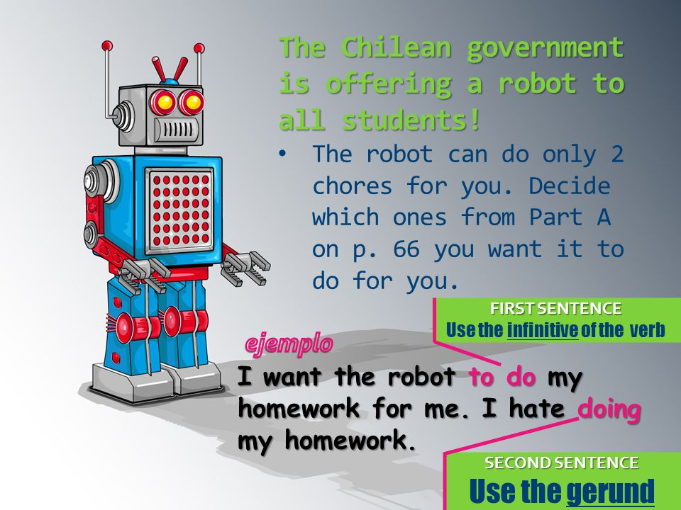 The Chilean government is offering a robot to all students!