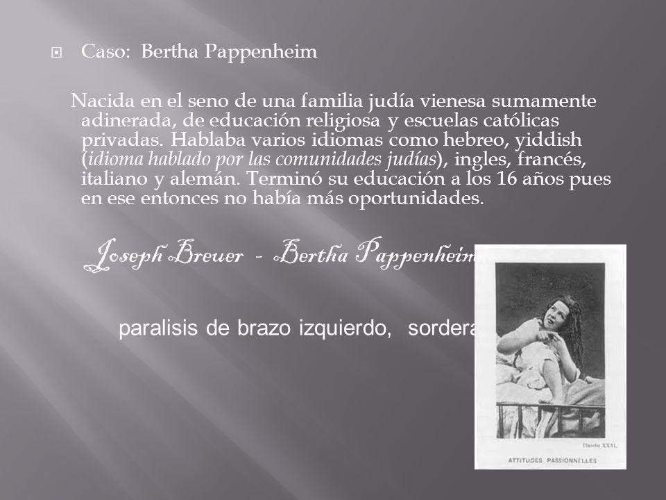 Joseph Breuer - Bertha Pappenheim