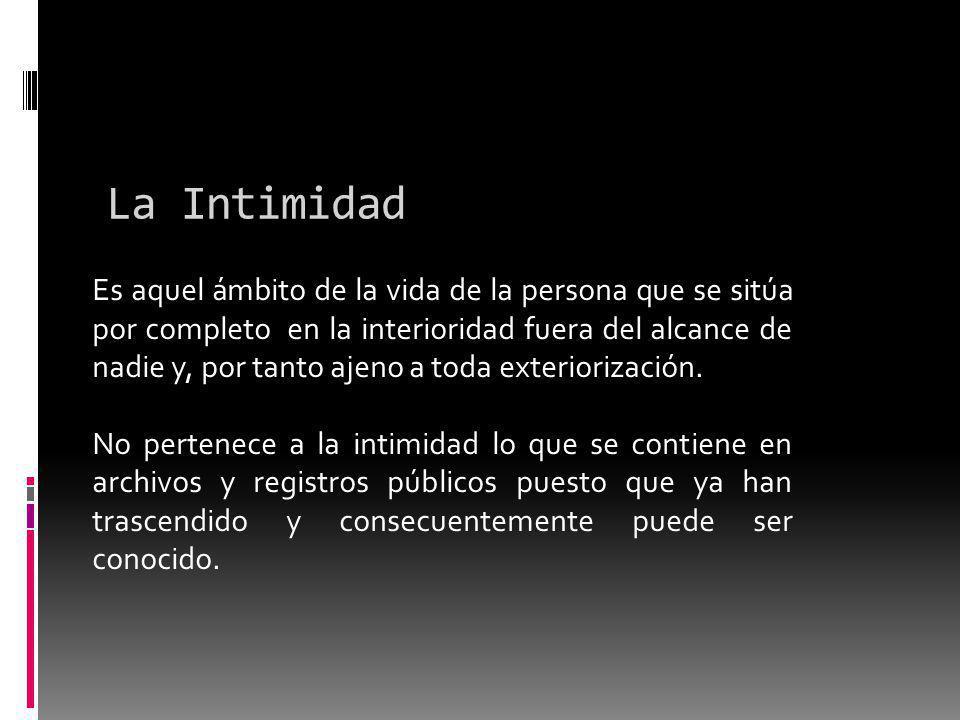 La Intimidad