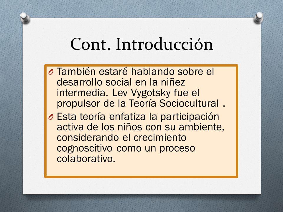 Cont. Introducción