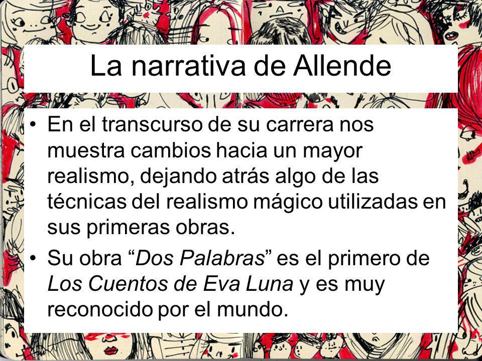 La narrativa de Allende