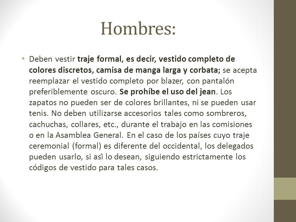Hombres: