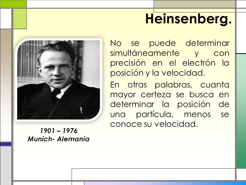 Heinsenberg.
