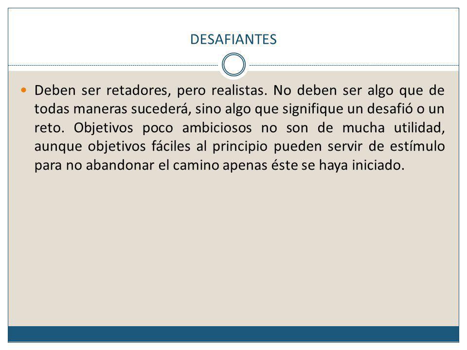 DESAFIANTES