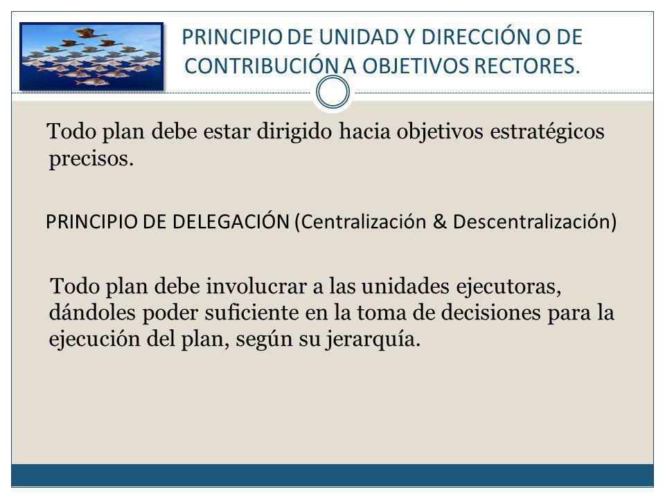 PRINCIPIO DE DELEGACIÓN (Centralización & Descentralización)