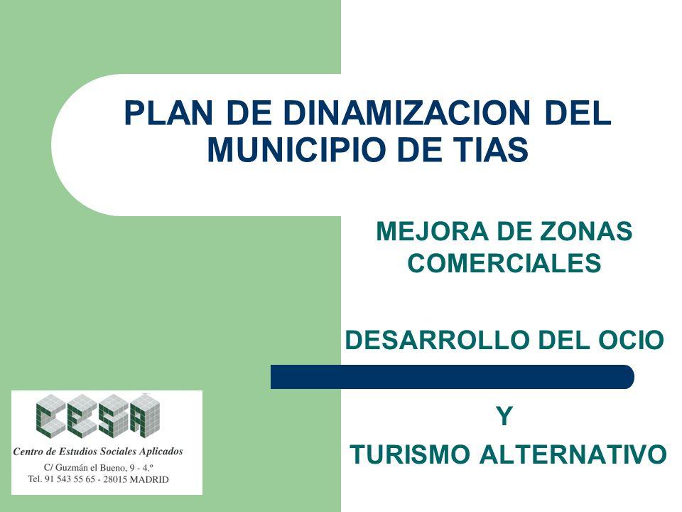 PLAN DE DINAMIZACION DEL MUNICIPIO DE TIAS