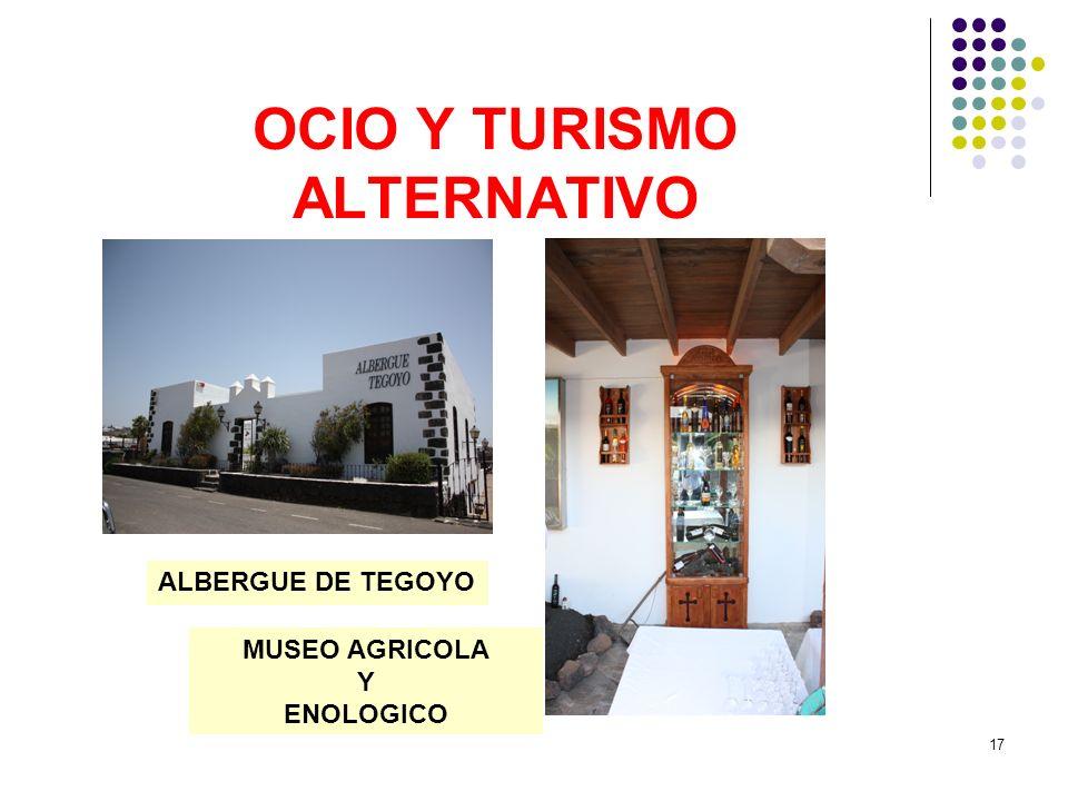 OCIO Y TURISMO ALTERNATIVO