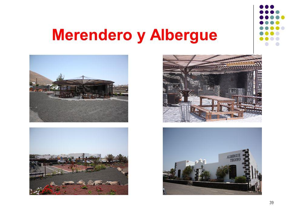 Merendero y Albergue