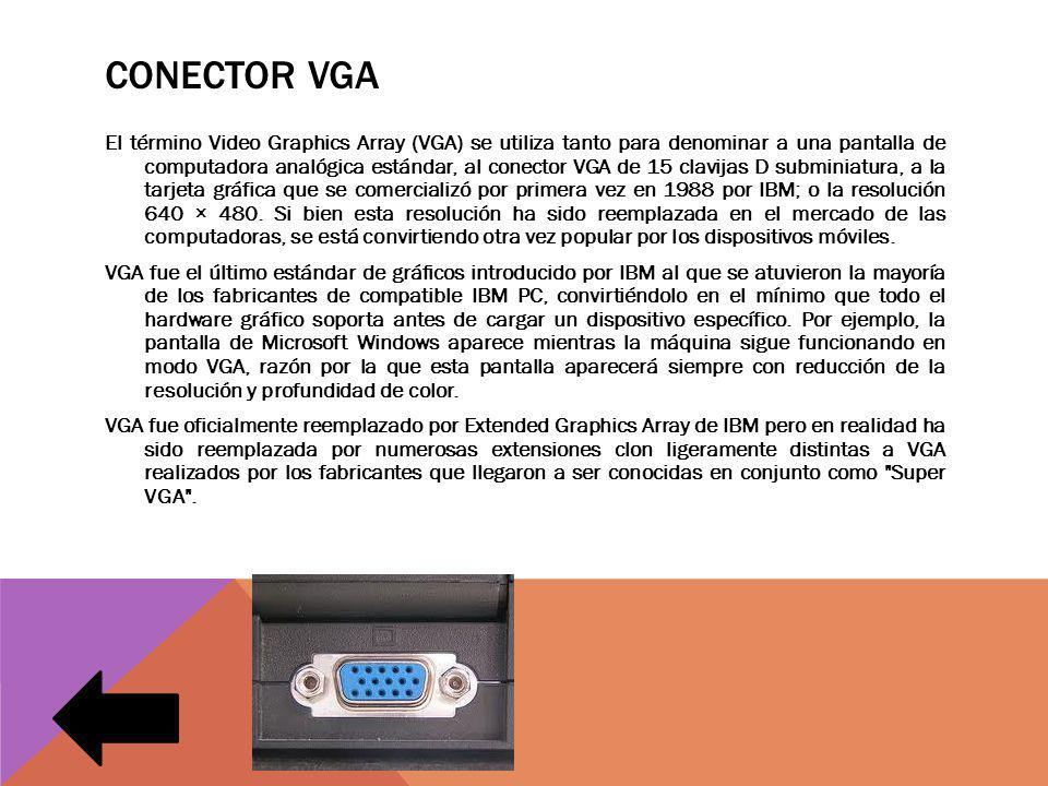 Conector vga