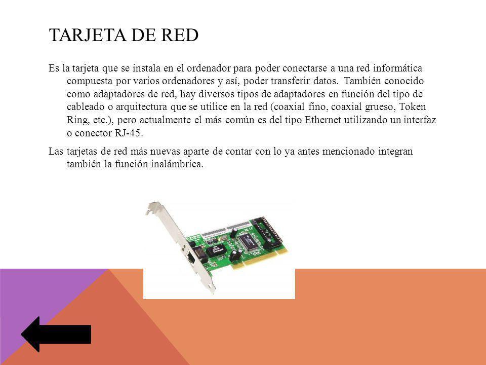TARJETA DE RED