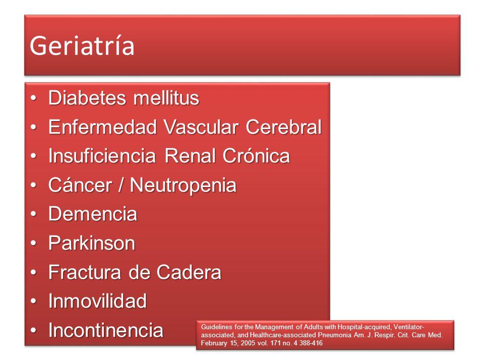 Geriatría Diabetes mellitus Enfermedad Vascular Cerebral