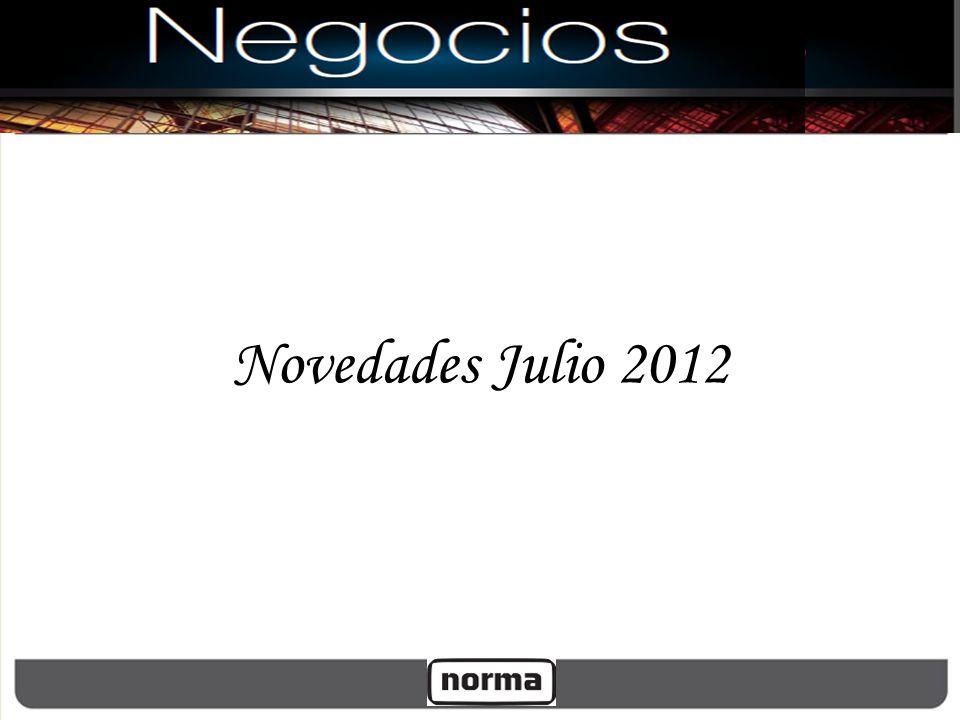 Novedades Julio 2012