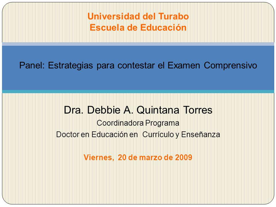 Universidad del Turabo Escuela de Educación