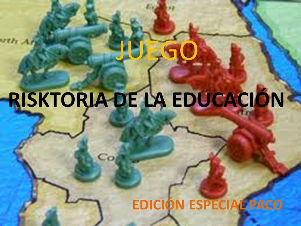 RISKTORIA DE LA EDUCACIÓN