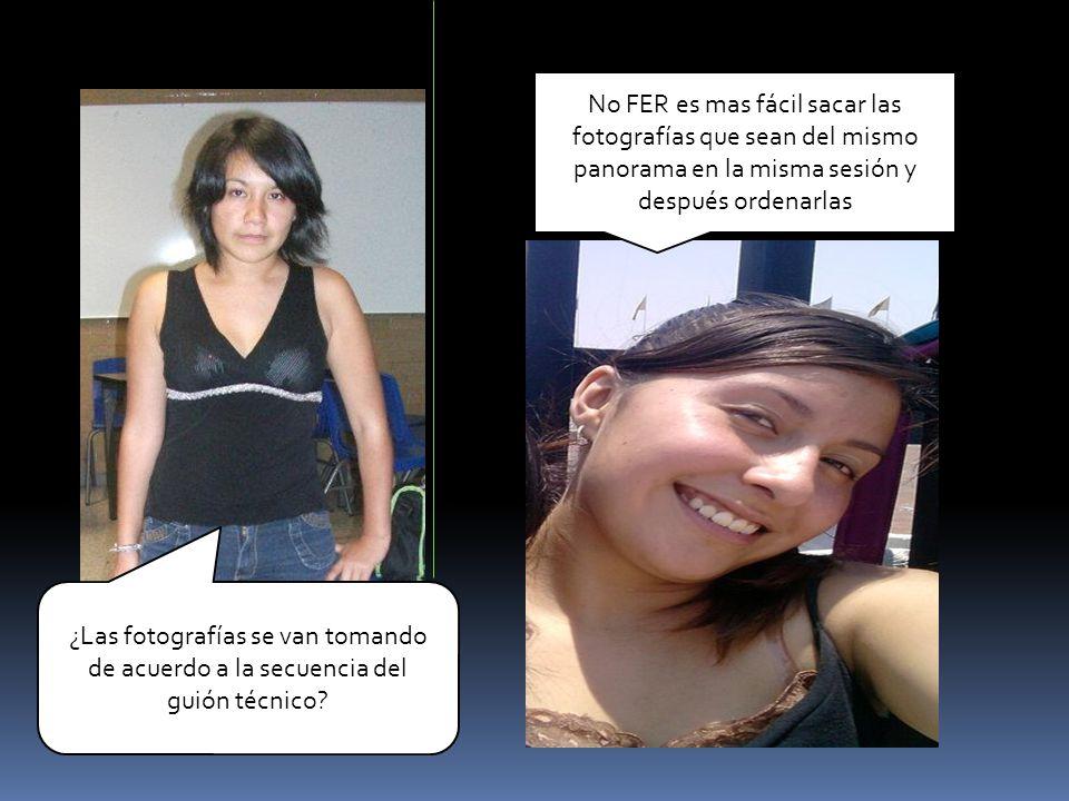 No FER es mas fácil sacar las fotografías que sean del mismo panorama en la misma sesión y después ordenarlas