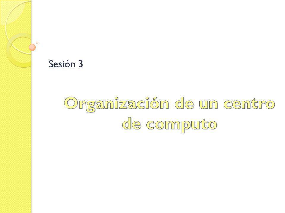 Organización de un centro de computo