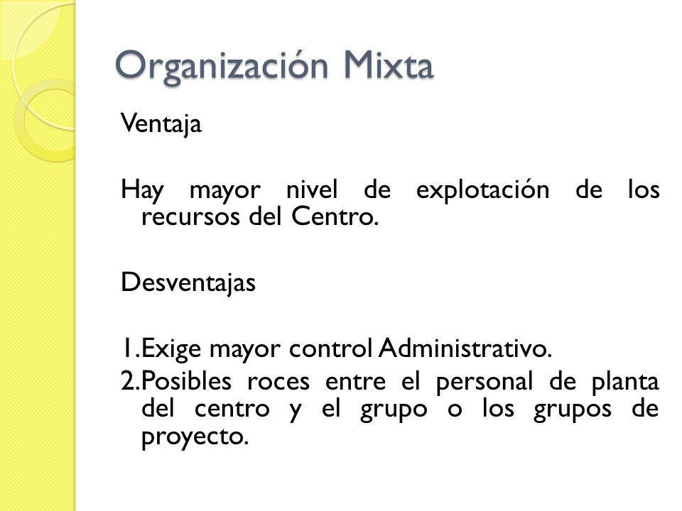 Organización Mixta
