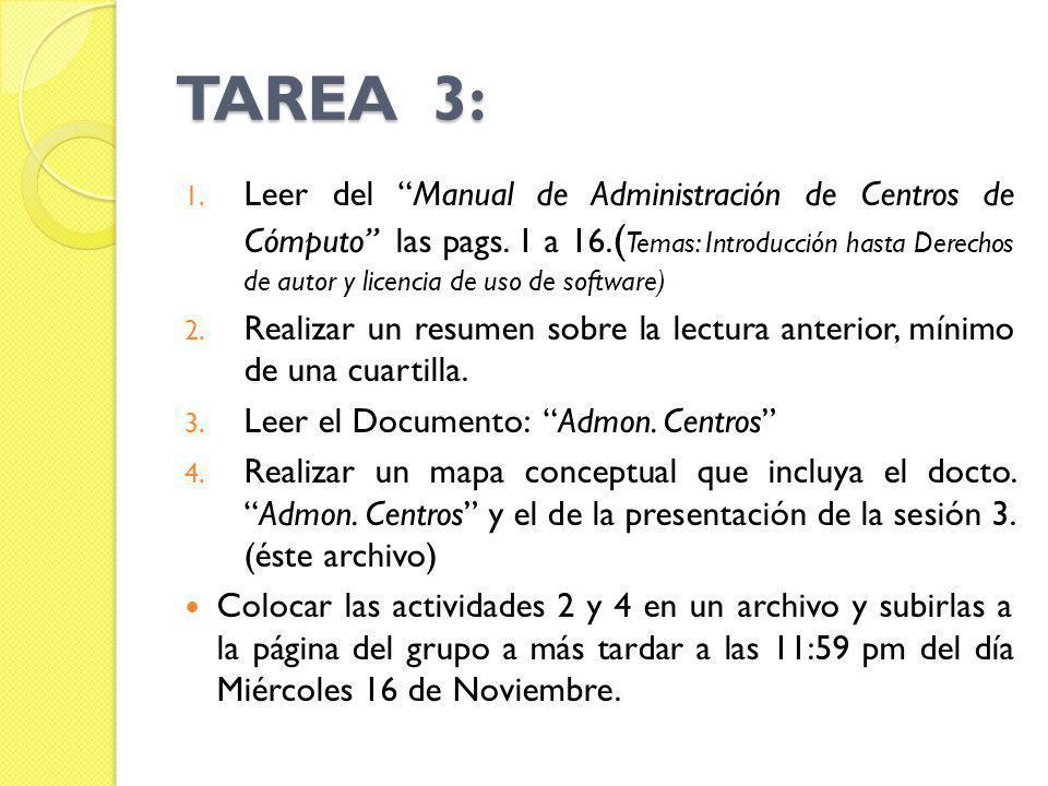 TAREA 3: