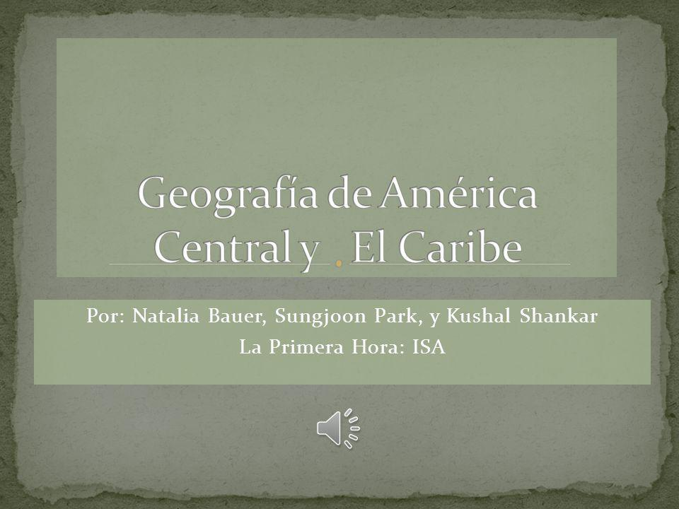 Geografía de América Central y El Caribe