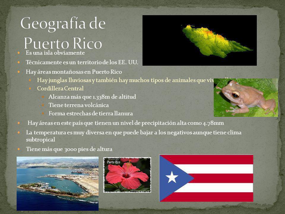Geografía de Puerto Rico