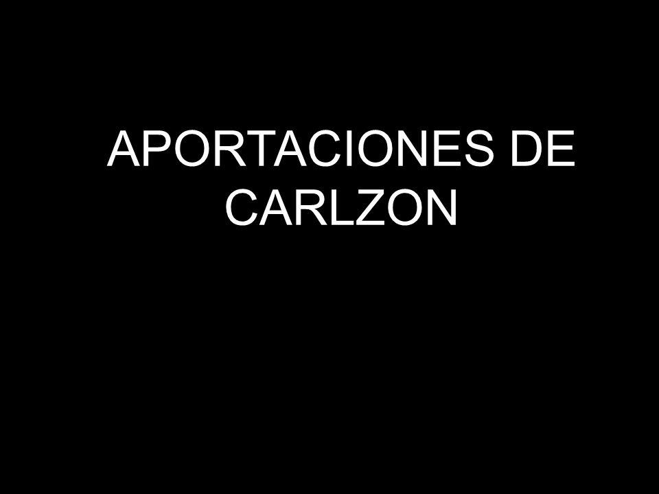 APORTACIONES DE CARLZON