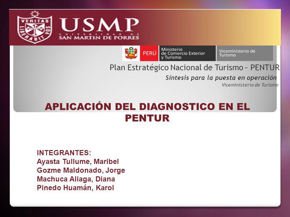 APLICACIÓN DEL DIAGNOSTICO EN EL PENTUR