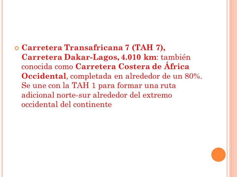 Carretera Transafricana 7 (TAH 7), Carretera Dakar-Lagos, 4