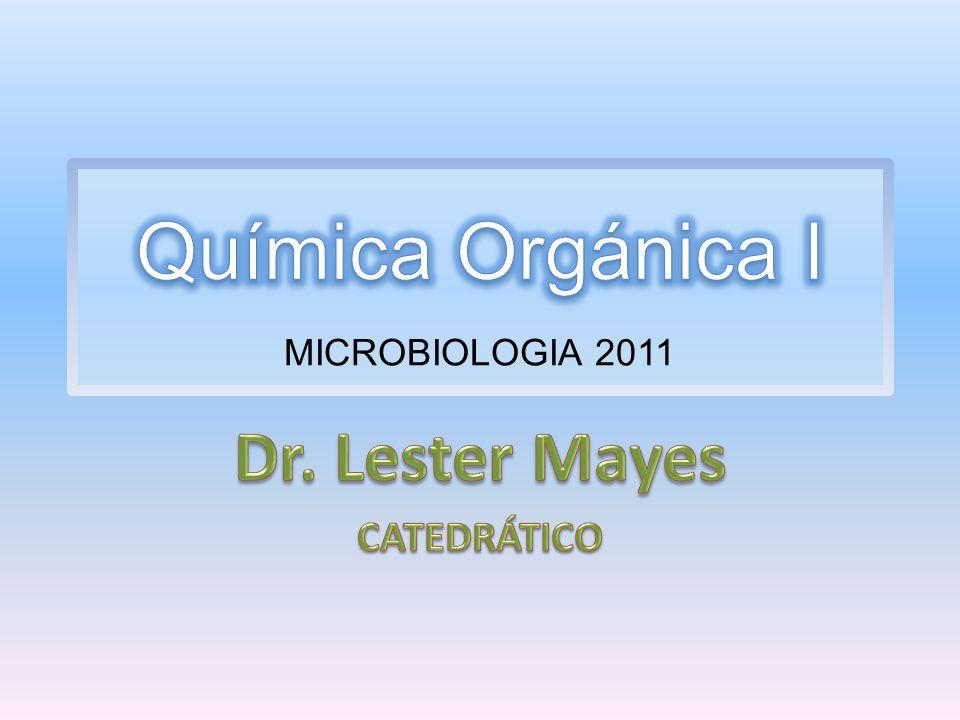 Química Orgánica I MICROBIOLOGIA 2011