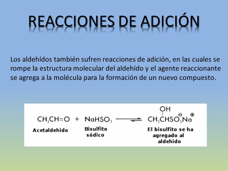 REACCIONES DE ADICIÓN
