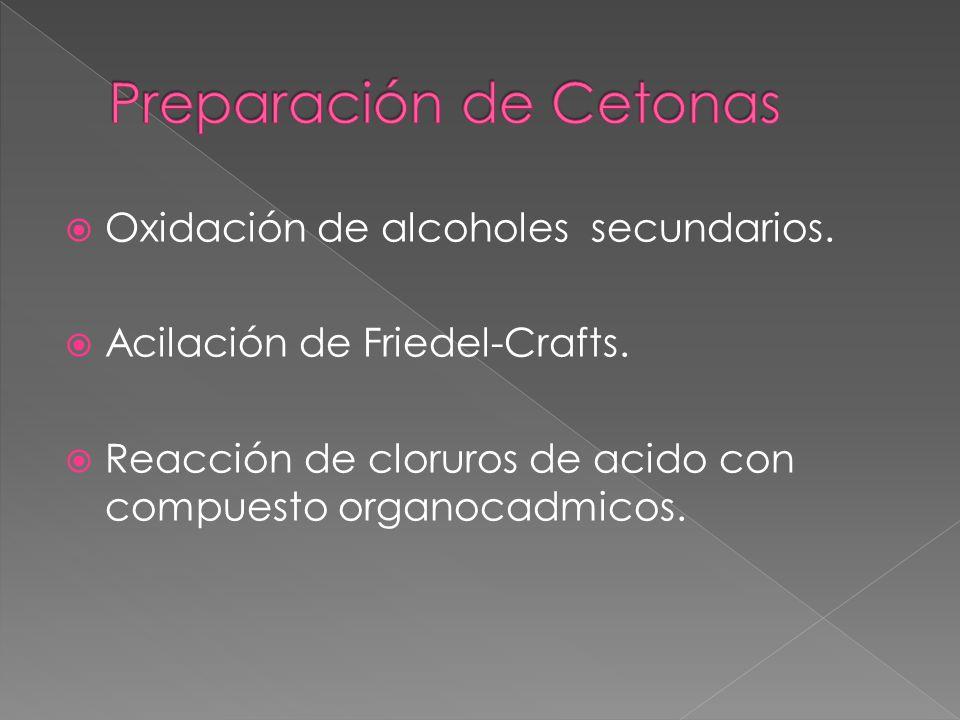Preparación de Cetonas
