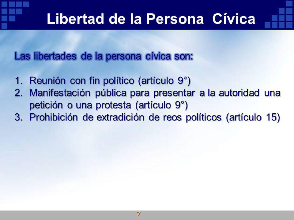 Libertad de la Persona Cívica