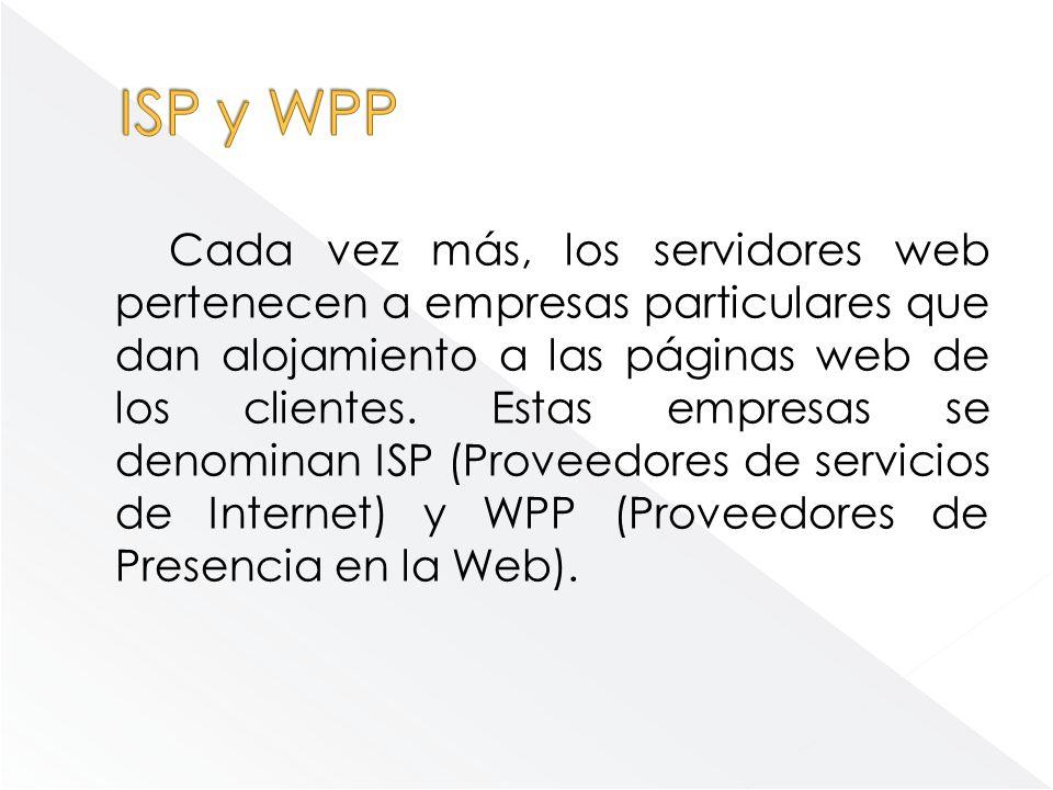 ISP y WPP