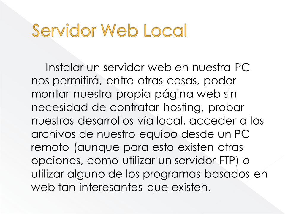 Servidor Web Local