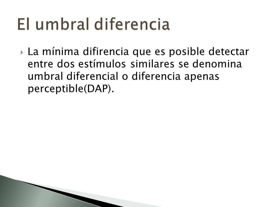El umbral diferencia