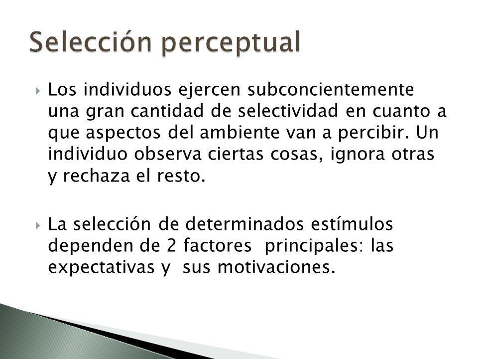 Selección perceptual