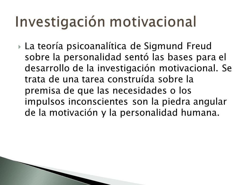 Investigación motivacional
