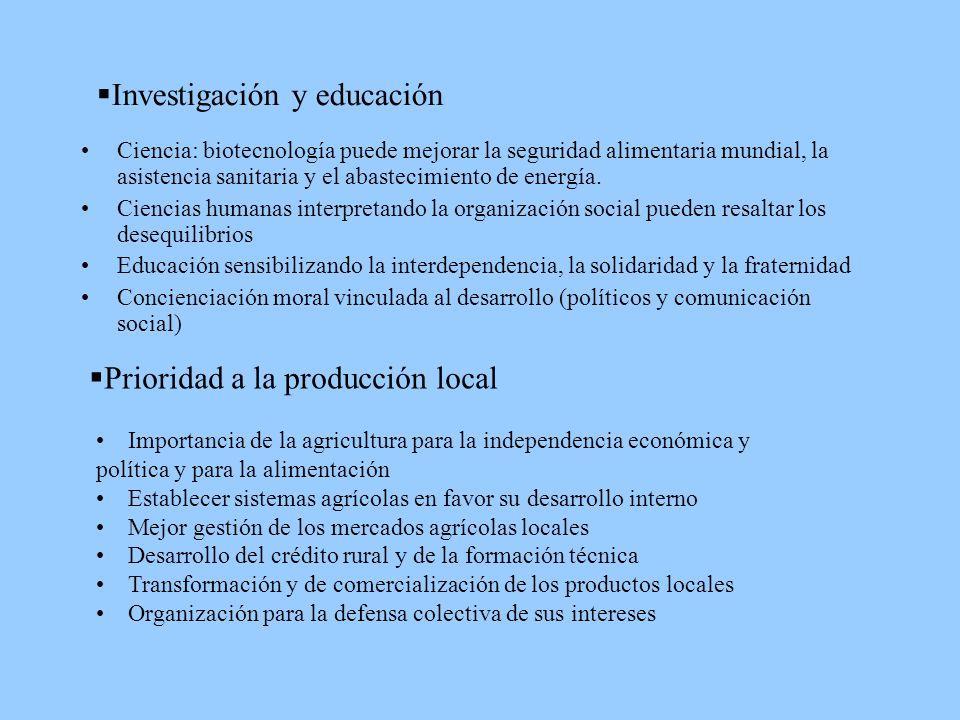 Investigación y educación