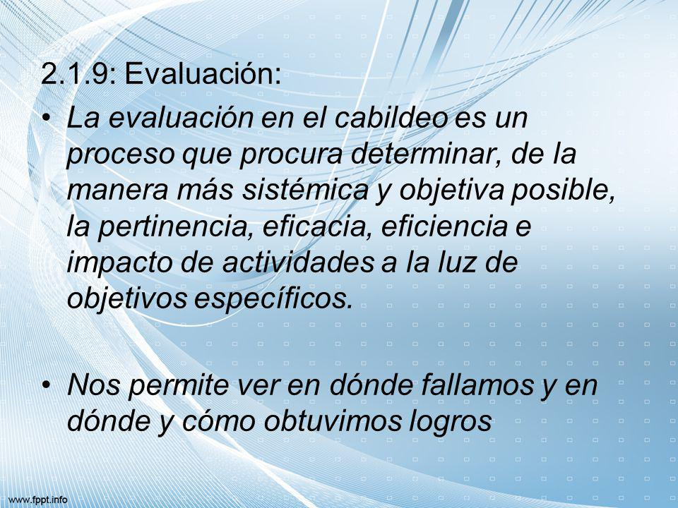 2.1.9: Evaluación: