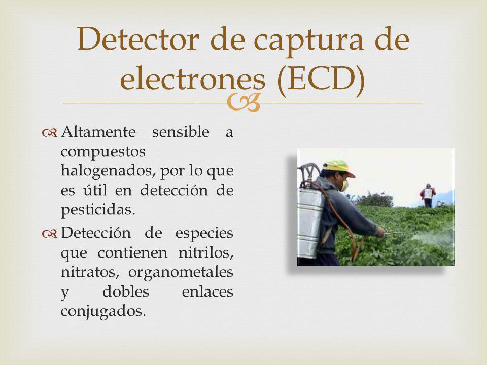 Detector de captura de electrones (ECD)
